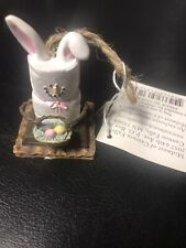 The Original S'mores Ears Easter Bunny Ornament Midwest