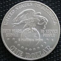 USA ONE DOLLAR USO 1991 ARGENT