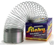 ALEX ORIGINAL METAL SLINKY WALKING SPRING TOY,WALKS DOWN STAIRS,KIDS 5+,NEW