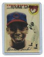 1954 Topps # 94 ERNIE BANKS Rookie RC REPRINT Chicago Cubs Great LOOK !