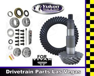 Yukon Ring Pinion Gear Set For Nissan Titan 04-15 Rear 3.54 Ratio Mstr Kit Yoke