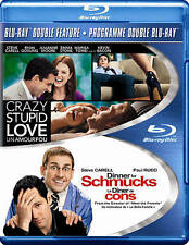 NEW - Crazy Stupid Love / Dinner For Schmucks (DBFE) [Blu-ray]