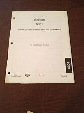 CASE 5100 TRACTOR HYDRAULIC TROUBLESHOOTING SCHEMATICS MANUAL 1989