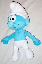 "Plush Blue White 16"" NANCO Smurf Doll"