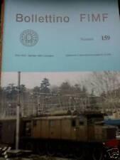 Bollettino FIMF treni 1988 159 Locomotive elettriche Tr