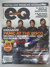 EQ Magazine SEALED Giu  2008 Panic At The Disco Recording Acoustic Guitars No cd