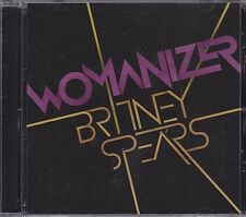 Britney Spears Womanizer RARE promo DJ CD single w/ instrumental '08
