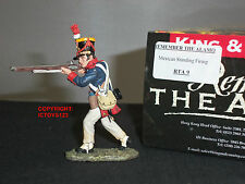 KING AND COUNTRY RTA09 REMEMBER THE ALAMO MEXICAN SOLDIER STANDING FIRING FIGURE