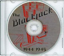 Seabees NCB 21st Naval Construction Battalion Log WWII CD RARE Blackjack