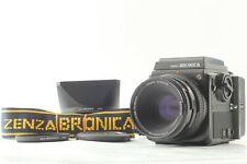 【 MINT +3】 Bronica SQ-Ai 6x6 Camera Body waist Finder Zenzanon PS 80mm f2.8 Lens