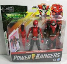 "Power Rangers Beast Morphers Red Ranger and Morphin Cruise Beast Bot 6"" Figures"