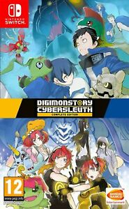 Digimon Story: Cyber Sleuth Complete Edition (Switch) New & Sealed UK PAL