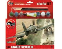 AIRFIX A55208 Hawker Typhoon MK. IB Medium Starter Set 1:72 New & Sealed