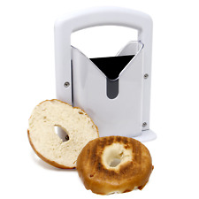 Bagel Slicer Guillotine Perfect Bagel Cutter Every Time For Toaster M&W