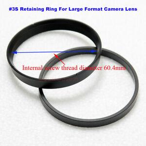 #3S ( Diameter 60.4mm ) Retaining Shutter Ring For 4x5 8x10 Large Format Camera