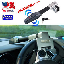 Universal Steering Wheel Lock Vehicle Car Security Key Alarm T-Lock Anti Theft