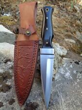 Couteau Scottish Dirk Sheffield Sgian Dubh Acier Carbone Manche Corne PA8021HN