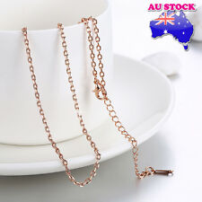 Wholesale 18K Rose Gold Filled 1.5mm Classic Link Anchor Chain Necklace Chain