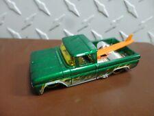 Hot Wheels Loose Green w/Flames Custom '62 Chevy  Pickup Truck