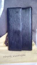 Louis Vuitton 100% Authentique Black epi leather porte TRESOR Purse/Wallet