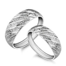 Fashion Charm Silver Plated Opening Ring Top Adjustable Rings Lover Couple New