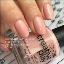 CND Creative Play Nail Polish Lacquer Enamel Varnish Blush on U 13.6 Ml