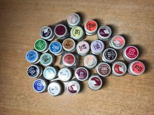 Bio sculpture gel.not new.open banks. 29 pieces. different color.not whole pots.