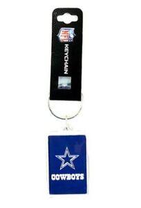 DALLAS COWBOYS NFL ACRYLIC KEY CHAIN WITH STAR LOGO