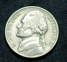 1939 P Jefferson Nickel, Circulated, Nice Coin, Great Album Coin!