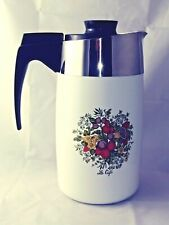 Corning Ware Spice Of Life Le Cafe' 10 Cup Electric Coffee Pot E-1210-8 TESTED