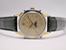 GUBELIN MOONPHASE STAINLESS STEEL AUTOMATIC 37MM MEN'S WATCH