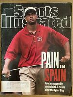 October 6, 1997 Sports Illustrated Tiger Woods; Ryder Cup; Gus Frerotte; NHL