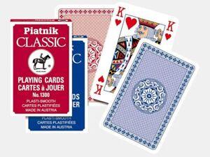 Piatnik Playing Cards Classic No.1300 Bridge