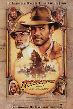 Indiana Jones And The Last Crusade (1989) Original Movie Poster - Rolled