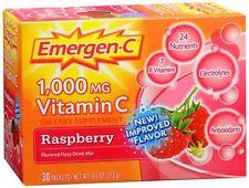 Emergen-C Vitamin C Drink Mix Packets Raspberry 30 Each