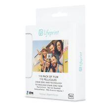 """Lifeprint Film 2x3"""" - Pellicole fotografiche adesive Confezione da 110"""