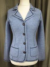 Boden 100% Wool Blue Jacket - Medium UK10 EU38