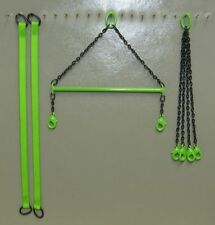 Evot Diecast Spreader Bar Set in Sennebogen Green. 1:50 1:48th Scale. USA Made
