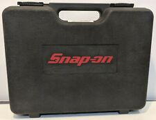 Snap-On CTS561 Cordless Screwdriver Empty Black Case and Manual Only