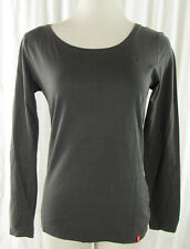 EDC by ESPRIT Langarm   Shirt Gr. DE 36 grau Top T-Shirt Polera