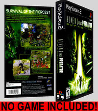 Aliens vs. Predator Extinction  - PS2 Reproduction Art DVD Case No Game