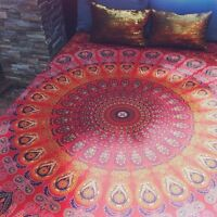 Indian Mandala Tapestry Hippie Wall Hanging Bedding Bedspread Bed Cover Throw