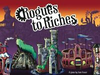 Rogues To Riches - Board Game by Sam Fraser (GrowGiantGames) New! Free Shipping!