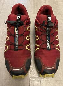 SALOMAN. Mens Speedcross 4. Running Trainers. Size Uk 10.5.