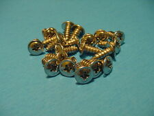 "GM 20 Chrome Self Tapping Screws #8x7/16"" Wheel Well Moulding Low Profile NOS"