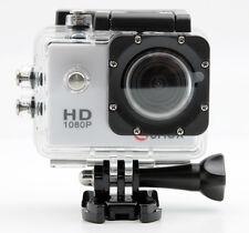 Action Sport caméra FHD 1080p étanche 720p Vidéo Helmetcam SJ4000 blanc