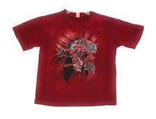 The Mountain Kid's Red Ripper Rex T-Shirt Tee Youth Red S-M-L NWT Made in USA.