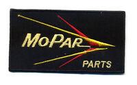 Hot Rod Patch Mopar Parts badge Drag Race Team Muscle Car Mechanic Iron On