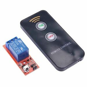 1 Channel 12V Latching Remote Control Wireless Relay Board Module
