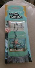 Yankee Candle Classic Car Jar Air Freshener Ocean Star Rub & Smell Favorites new